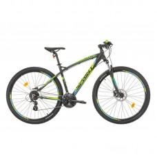 Bicicleta Sprint GTS 29 negru/verde 2017
