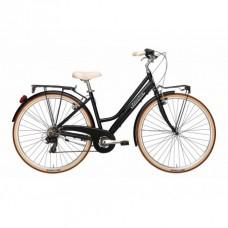 Bicicleta Adriatica City Retro Lady 28 neagra 45 cm