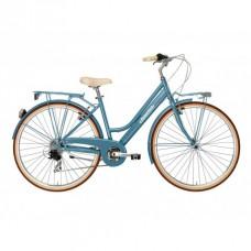 Bicicleta Adriatica City Retro Lady albastra 2016