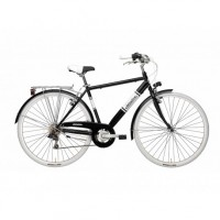 Bicicleta Adriatica Panarea Man 28 neagra 50 cm