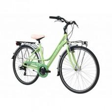Bicicleta Adriatica Sity 3 6V Donna verde 45 cm