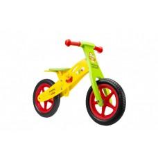 Bicicleta fara pedale Seven-WTP, Galben/Verde