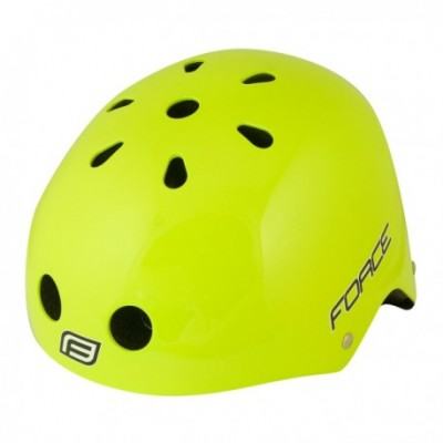 Casca Force BMX fluorescent lucios L-XL