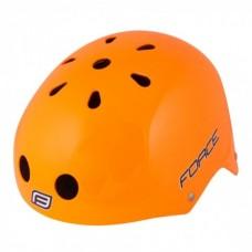Casca Force BMX portocaliu lucios S-M