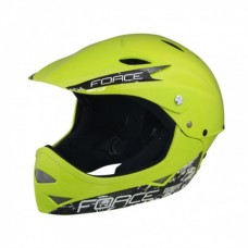 Casca Force Downhill Junior fluo lucios S-M