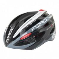 Casca Force Road Pro negru/gri/alb L-XL