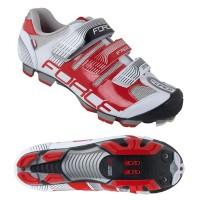 Pantofi Force Free MTB alb/rosu 41
