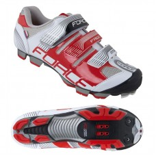 Pantofi Force Free MTB alb/rosu 42
