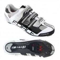Pantofi Force Road negru/alb 46