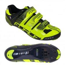 Pantofi Force Spike Road fluo/negru 38