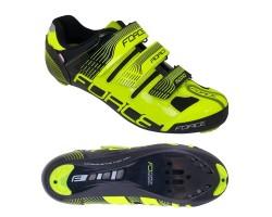 Pantofi Force Spike Road fluo/negru 40