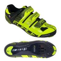 Pantofi Force Spike Road fluo/negru 45