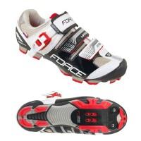 Pantofi MTB Hard Force negru/alb 42