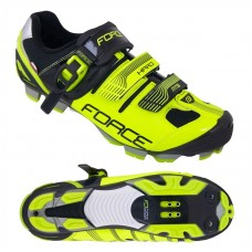 Pantofi MTB Hard Force negru/fluo 41