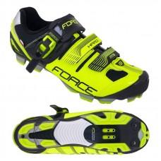 Pantofi MTB Hard Force negru/fluo 44