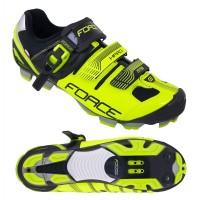 Pantofi MTB Hard Force negru/fluo 45