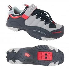 Pantofi Tourist Force negru/gri/rosu 39