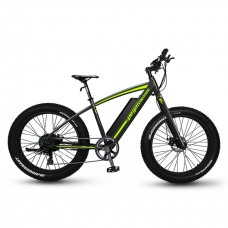 Bicicleta Fatbike Pegas Fatbike Suprem Dinamic E-bike, Negru Mat
