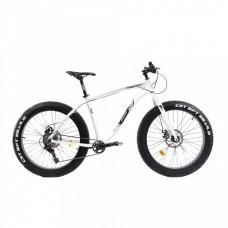 Bicicleta Fatbike Pegas Suprem FX 17', Alb Perlat