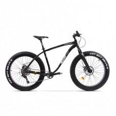 Bicicleta Fatbike Pegas Suprem FX 17', Negru Stelar