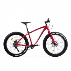 Bicicleta Fatbike Pegas Suprem FX 17', Rosu Mat