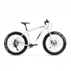 Bicicleta Fatbike Pegas Suprem FX 19', Alb Perlat