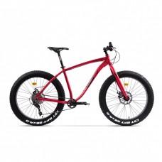 Bicicleta Fatbike Pegas Suprem FX 19', Rosu Mat
