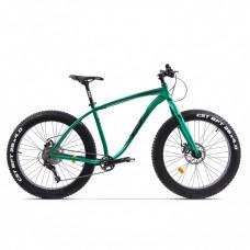 Bicicleta Fatbike Pegas Suprem FX 19', Verde Smarald