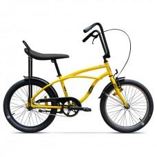 Bicicleta Strada Mini - 1 viteze, Galben Bondar
