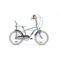 Bicicleta Strada Mini - 3 viteze, Bleu Arctic