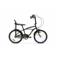 Bicicleta Strada Mini - 3 viteze, Negru Mat
